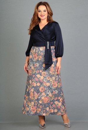 Платье Anastasia Mak 667 синий