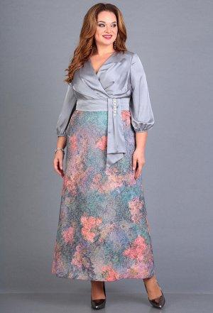 Платье Anastasia Mak 667 серебро