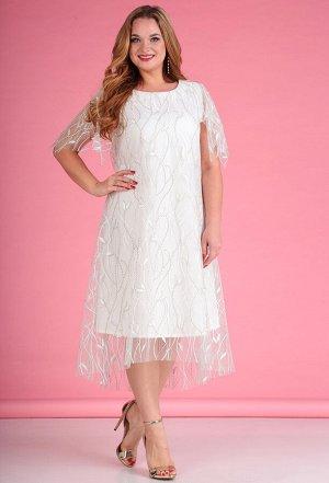 Платье Anastasia Mak 509 белый