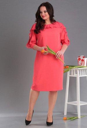 Платье Anastasia Mak 589 коралл
