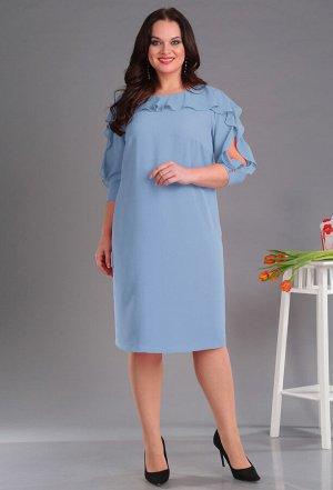 Платье Anastasia Mak 589 голубой