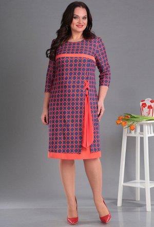 Платье Anastasia Mak 580 коралл