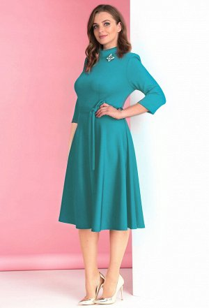Платье Anastasia Mak 530 бирюза