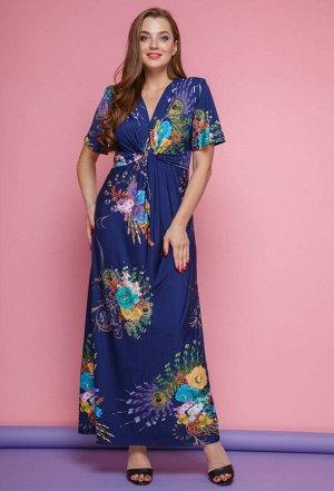Платье Anastasia Mak 483 синий