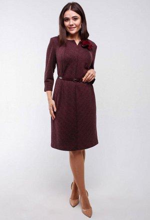 Платье Amelia Lux 3250 бордо
