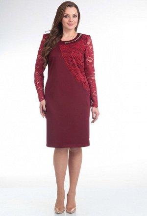 Платье Anastasia Mak 453 бордо