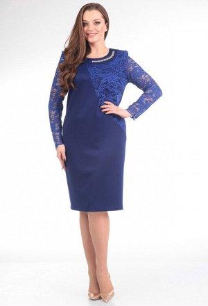 Платье Anastasia Mak 453 синий