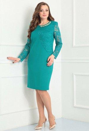 Платье Anastasia Mak 453 бирюза
