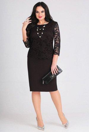 Платье Anastasia Mak 566 черный