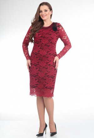 Платье Anastasia Mak 233 бордо