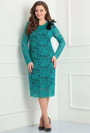 Платье Anastasia Mak 233 бирюза