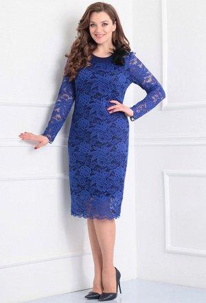 Платье Anastasia Mak 233 василек