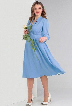 Платье Anastasia Mak 597 голубой