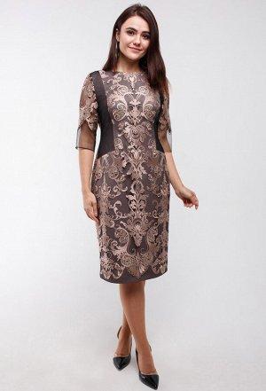 Платье Amelia Lux 3243 золото
