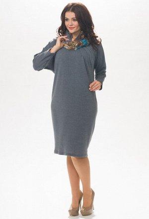 Платье Amelia Lux 0789 серый