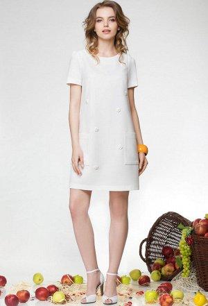 Платье Lenata 11658 белый