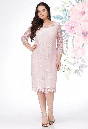 Платье Lenata 11908 розовый