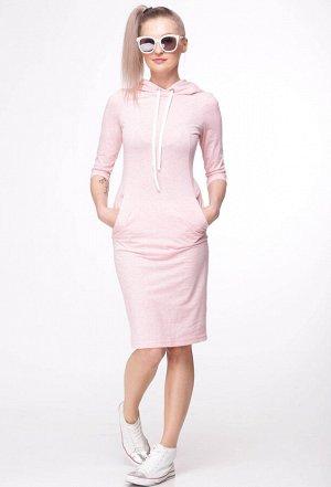 Платье HIT 4005 розовый