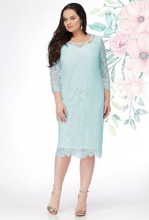 Платье Lenata 11908 мята