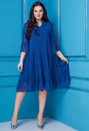 Платье Anastasia 251 василек