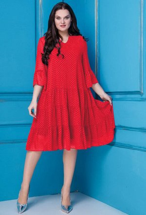 Платье Anastasia 251 красный