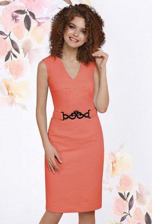 Платье Lenata 11794 оранжевый