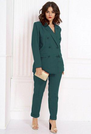 Комплект Anastasia 394/467 темно-зеленый