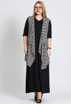 Комплект Amelia Lux 0716 черно-белый