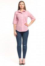 Блуза Amelia Lux 3130 розовый