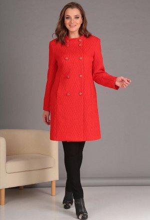 Пальто Anastasia Mak 521 красный