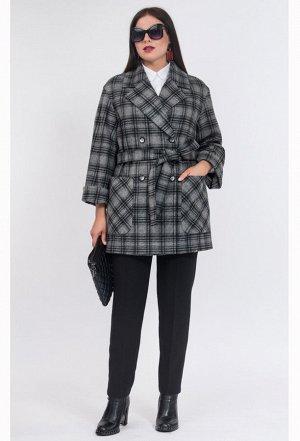 Пальто Amelia Lux 3178 темное