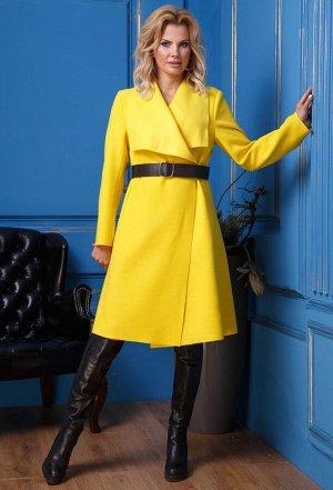 Пальто Anastasia 331 желтый