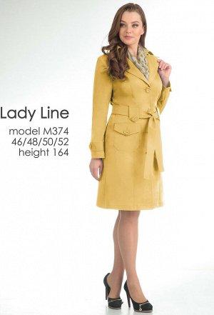 Плащ Lady Line 374 желтый