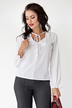 "Блуза ""Модница"" (белая) Б1701"