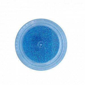 Блестки синий голография