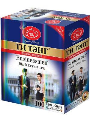 Чай ТИ ТЭНГ черный для Бизнесменов, 100пак