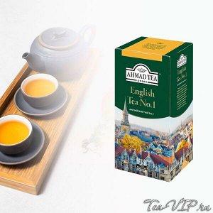 Чай Ахмад 25пак Английский чай №1 1/12 ф/конв.