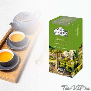 Чай Ахмад 25пак Зеленый с жасмином 1/12 ф/конв.