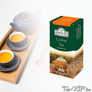 Чай Ахмад 25пак Цейлонский 1/12 ф/конв.