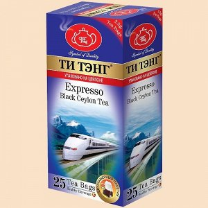 Чай ТИ ТЭНГ черный ЭКСПРЕССО, 25пак