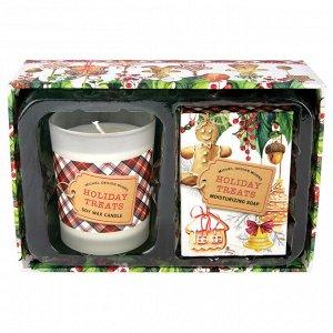 Свеча и мыло Праздничные угощения
