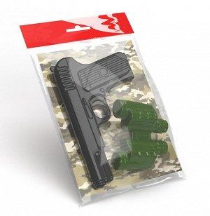 Оружие пластиковое Пистолет. Бинокль