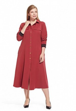 Платье  56 размера  Терракот  из распродажи