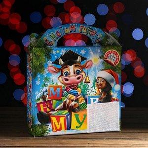 """Новогодний подарок """"Магнитный алфавит"""" картонная упаковка, 1200 г"""