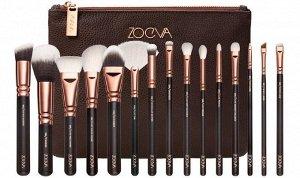 Набор кистей Zoeva Rose Golden Complete Set Vol.1 15 шт Набор Rose Golden | Инструменты и аксессуары для макияжа