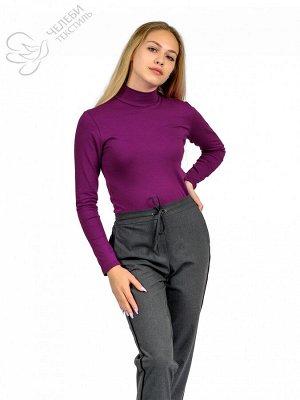 """Водолазка Водолазка женская с воротником - """"стойка"""" и длинным рукавом. Выполнена из гладкокрашенной ткани супрем. Состав ткани: 95% хлопок, 5% лайкра. Плотность — 160 г/м2 Водолазка женская с длинным"""