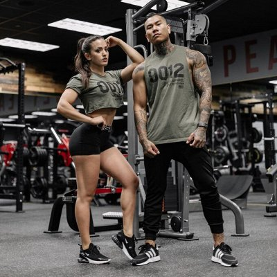 Женская и мужская одежда для фитнеса.Мировые бренды. — Майки/Футболки/Топы — Для женщин