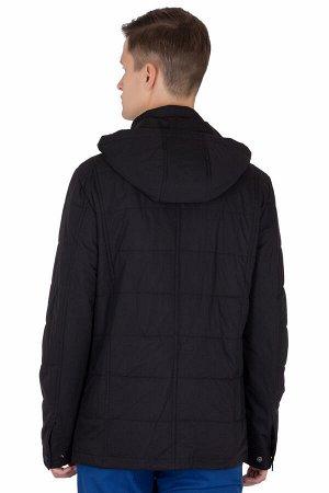 Куртка Сезон демисезонные. Цвет чёрный. Состав полиэстер-100%. Бренд EU-MENS