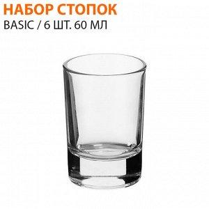 Набор стопок Basic / 6 шт. 60 мл