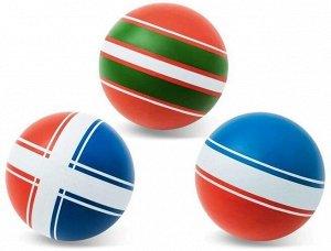 """Мяч д. 75 мм  """"Классика"""" ручное окрашивание (крестики-нолики,наш мяч,ободок)"""